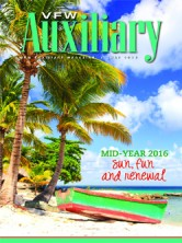 VFW Auxiliary May 2016 Magazine Cover
